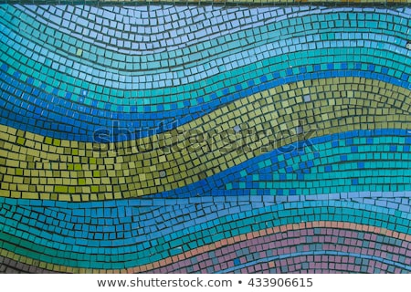 abstract pale color mosaic pattern Stock photo © Galyna