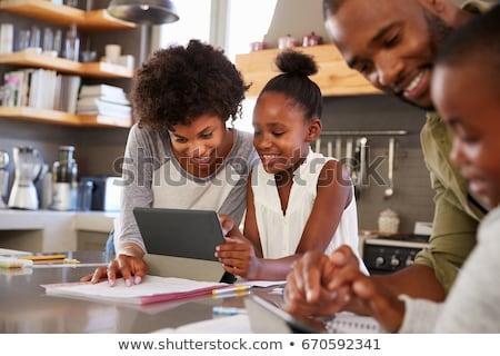 Technology Helping Children Stock photo © Lightsource