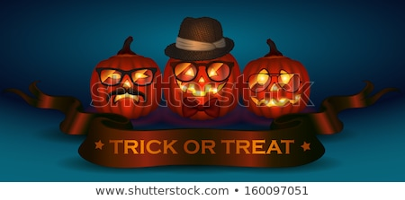Stock photo: Happy Halloween Typographical Background. EPS 10