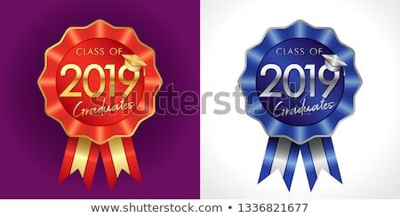Award rosette with ribbon.  Stock photo © m_pavlov