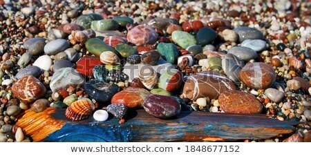 камней · многие · пляж · рок · каменные · терять - Сток-фото © kk-art
