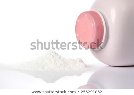 White Talcum Powder Container Stock photo © dezign56