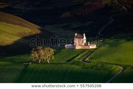 Castelo escócia viajar arquitetura história ao ar livre Foto stock © phbcz