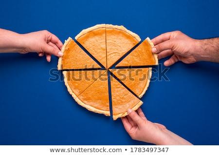 ломтик пирог Jam начинка красный Сток-фото © dmitroza