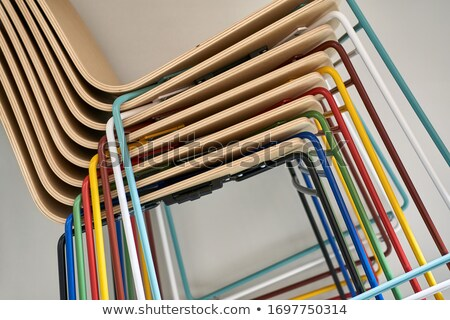group of chair furnitures stock photo © bluering