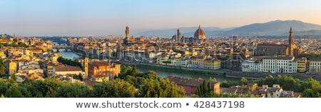 フィレンツェ · 1泊 · 表示 · パノラマ · イタリア · 風景 - ストックフォト © givaga