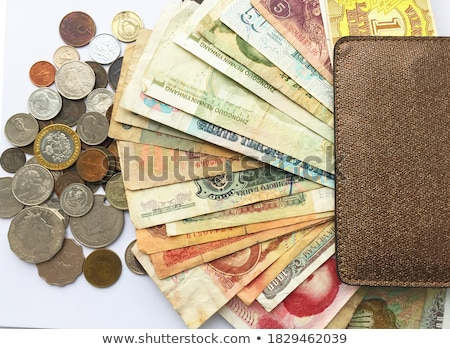 different english banknotes on a table stock photo © capturelight