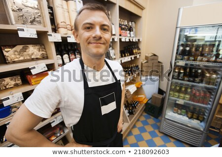 vendeur · année · haut · permanent · affaires - photo stock © lovleah