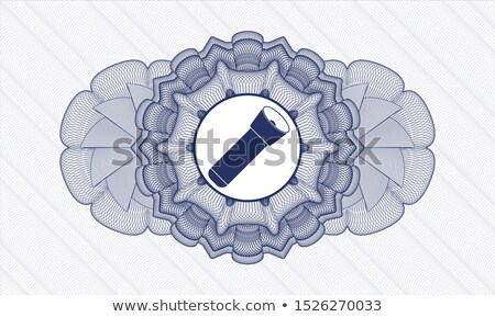 Lite Blue Snowflakes on blue background Stock photo © melking
