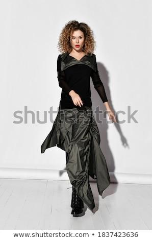 blond · haren · model · ontwerper · kleding - stockfoto © elnur
