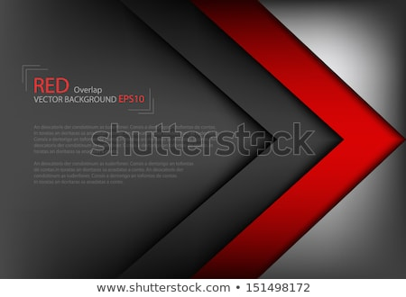Red Background With Abstract Black Square Shapes Vector Illustration C Star Line Sarts 7834403 Stockfresh