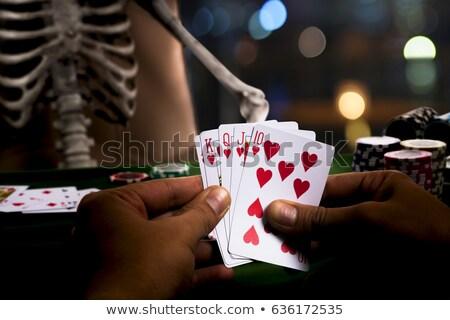 Collect Human Hearts over Black Stock photo © Anna_leni