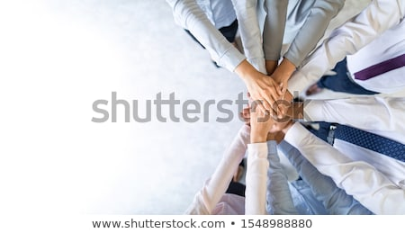 Stock photo: Teamwork Unity