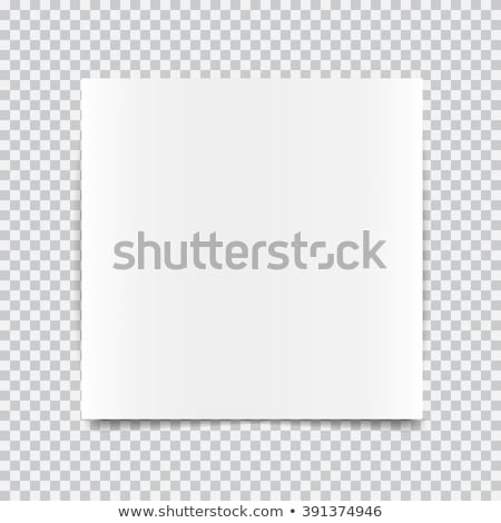 paper shadows transparent border effect stock photo © sarts