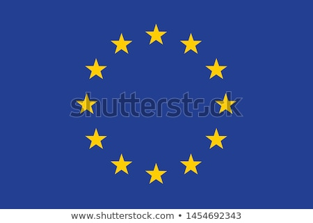 EU flag with Luxembourg country. European Union membership Luxembourg Stock photo © tkacchuk