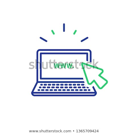 Search Online Instruction and Services Icon. Stock photo © WaD