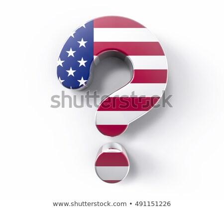 Questions arts maison blanche politique législation incertitude Photo stock © Lightsource