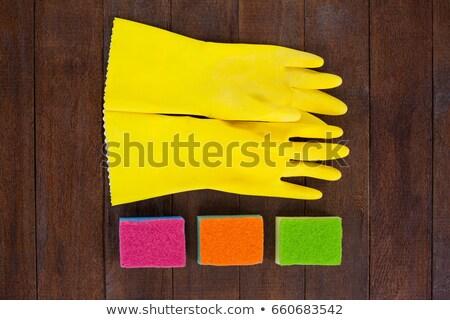 Rękawica domu fitness czyszczenia Zdjęcia stock © wavebreak_media
