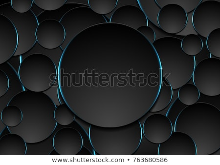 Light cyan tech geometric banner design Stock photo © saicle