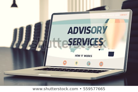 Landing Page of Laptop with Assurance Services Concept. 3D. Stock photo © tashatuvango