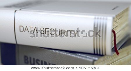 Data Encryption - Business Book Title. 3D. Stock photo © tashatuvango