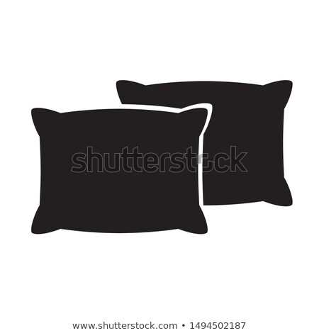 concept of a soft cushion  silhouette Stock photo © Olena