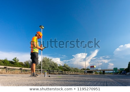 Survey on the highway  Stock photo © benkrut