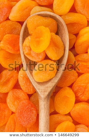 spoon of dried apricots Stock photo © Digifoodstock