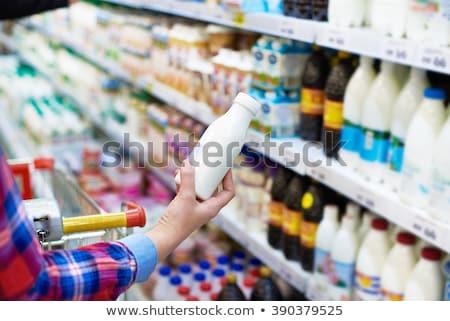 Uomo alimentari prodotto shelf supermercato Foto d'archivio © wavebreak_media