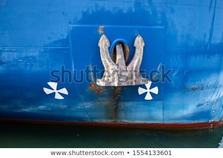 никто большой порт грузовое судно Сток-фото © IS2