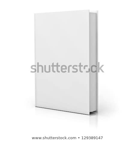 Boeken witte dekken papier boek achtergrond Stockfoto © creisinger