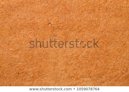 Mézeskalács textúra felső kilátás háttér arany Stock fotó © ThreeArt