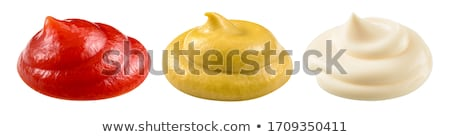 Mayonesa mostaza alimentos saludable condimento Foto stock © M-studio