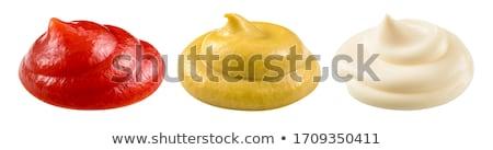 mayonaise · ei · koken · room · aroma - stockfoto © m-studio