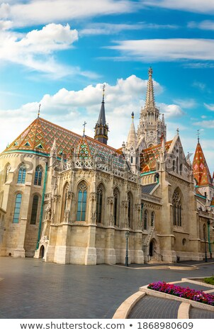 arquitectura · pesca · Budapest · amanecer · Hungría - foto stock © givaga