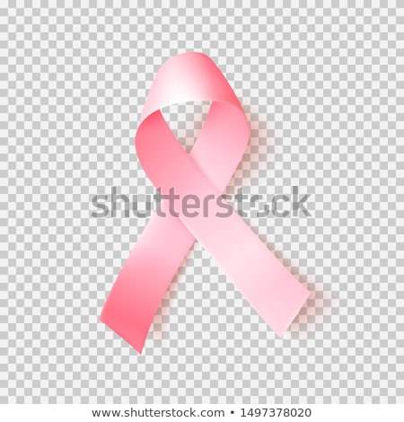 Pink ribbon symbol national breast cancer awareness month Stock photo © orensila