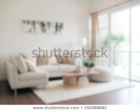 blurred cozy home background of living room Stock photo © dolgachov