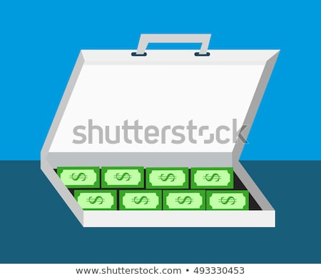 flat flip flop bargain money case concept vector illustration design stock photo © linetale