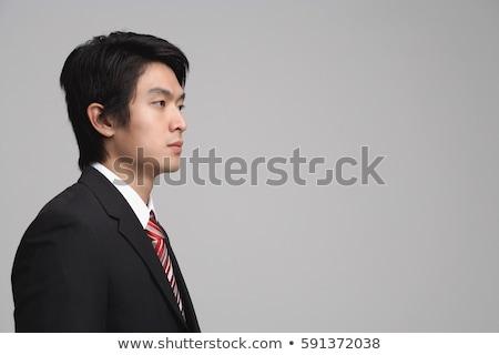 işadamı · karar · ofis · zor · bakıyor - stok fotoğraf © minervastock