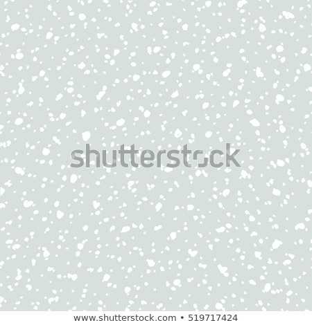 Falling snow seamless pattern. White snow and grey sky vector background. Winter snowfall Stock photo © ESSL