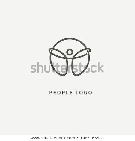 vector · empresarial · éxito · logo · resumen · humanos - foto stock © blaskorizov