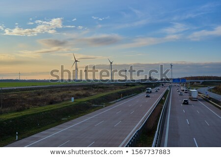 Yol birkaç araba üst görmek Stok fotoğraf © Kotenko