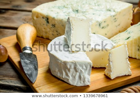 Stock photo: French soft cheese
