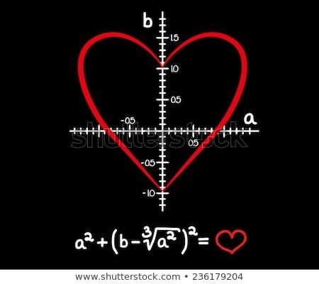 Stock photo: I love maths