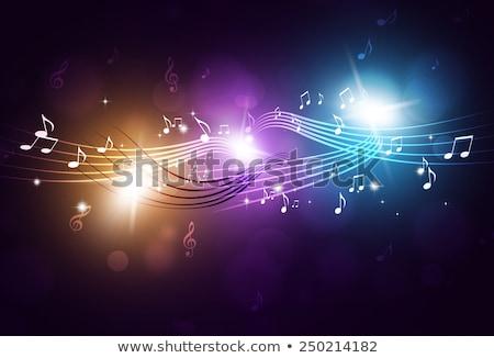 Música funky anunciante fiesta acontecimientos fondo Foto stock © alexaldo