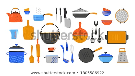 Cooking devices pattern Stock photo © netkov1