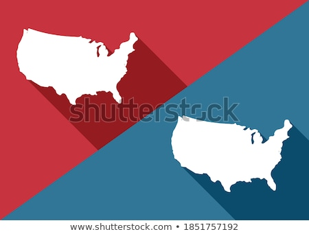 Divided Nation Stock photo © Lightsource
