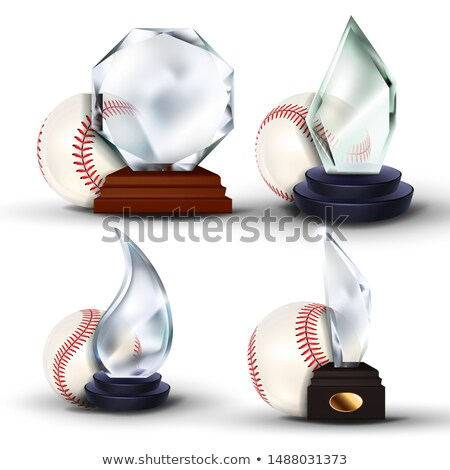 Baseball jeu attribution vecteur balle Photo stock © pikepicture