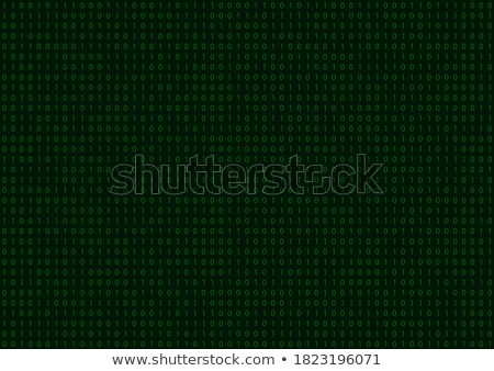 Binary code seamless pattern Stock photo © ratselmeister