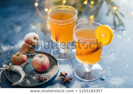Red and white mulled wine. Stock photo © furmanphoto